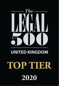 Colin Russ-Legal 500 Top Tier 2020 Mediator