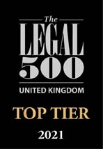 Colin Russ-Legal 500-Top Tier 2021